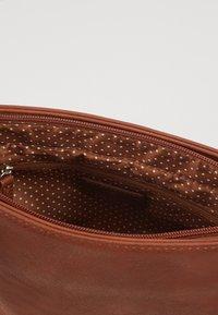 TOM TAILOR - LARI - Across body bag - cognac - 5