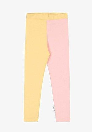 2-COLOR - Leggings - honey/romance pink