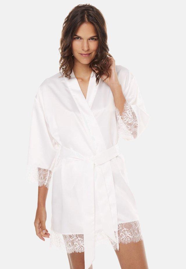 KIMONO DALLAS - Peignoir - white