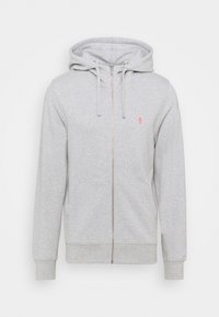 REVOLUTION - ZIP HOODY - Zip-up hoodie - grey melange - 0