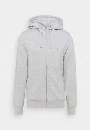 ZIP HOODY - Zip-up hoodie - grey melange