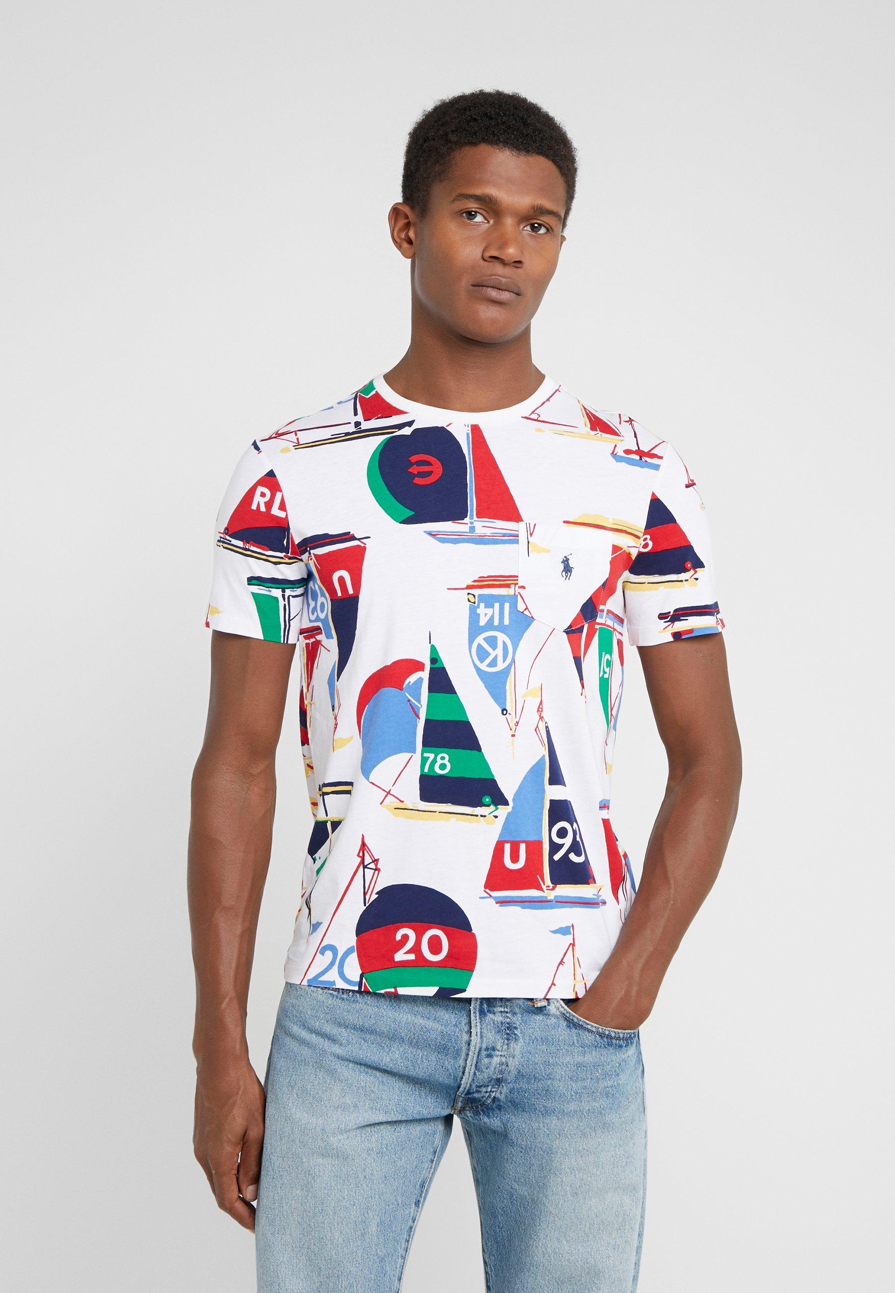 Kup najnowsze Gorąca wyprzedaż Polo Ralph Lauren T-shirt z nadrukiem - multicolor   Odzież męska 2020 qoWpJ