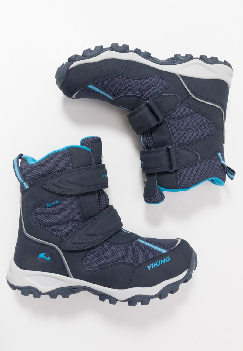 Viking - BEITO GTX UNISEX - Winter boots - navy