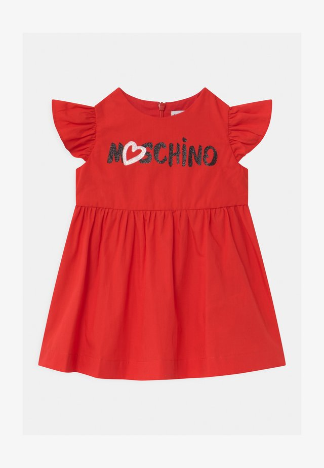 DRESS - Day dress - poppy red