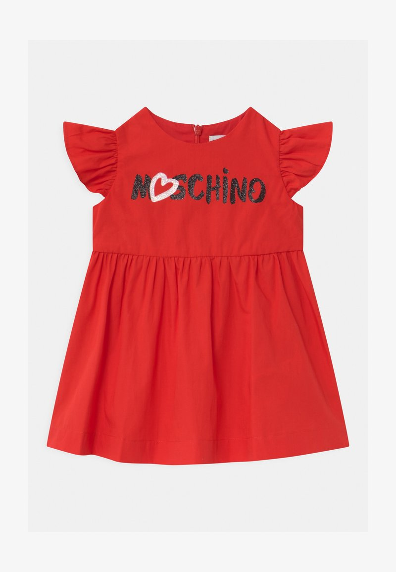 MOSCHINO - DRESS - Day dress - poppy red