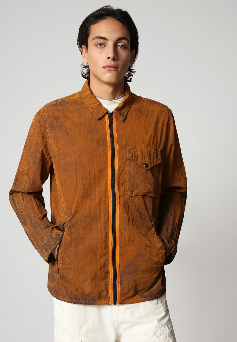 Napapijri - A-PEARL - Summer jacket - marmalade orange