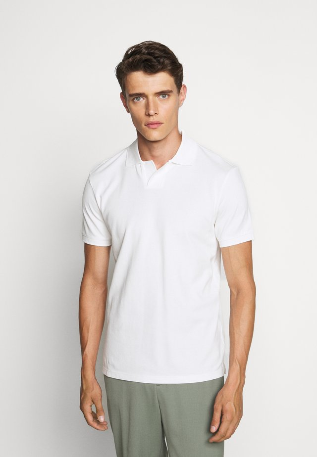 JOHNNY COLLAR - Polo shirt - blac de blanc