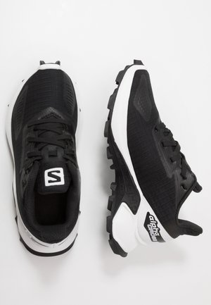 ALPHACROSS BLAST - Hiking shoes - black/white