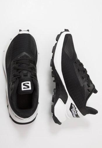 ALPHACROSS BLAST - Hiking shoes - black/white