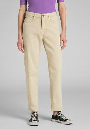 CAROL - Straight leg jeans - sand