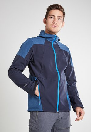 BENDON - Soft shell jacket - dunkel blau