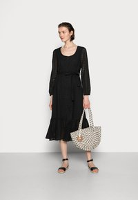 Cream - LOTTA DRESS - Day dress - pitch black - 1