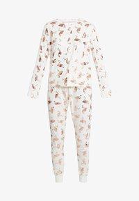 Chelsea Peers - FLAMINGOS - Pijama - white/rose gold - 4