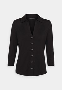 Marc O'Polo - CLASSIC - Button-down blouse - black - 0