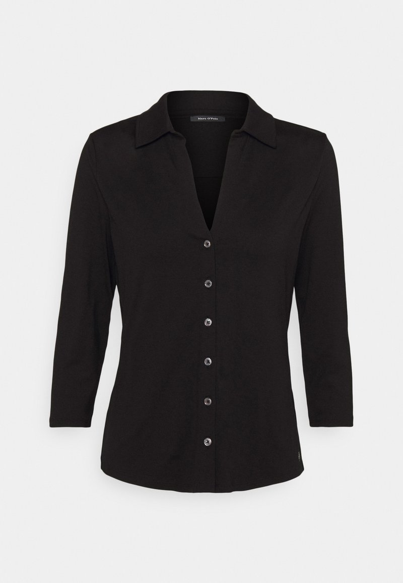 Marc O'Polo - CLASSIC - Button-down blouse - black