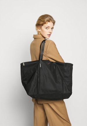 JET SET PACKABLE TOTE - Torba na zakupy - black