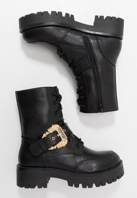 Versace Jeans Couture - Plateaustiefelette - nero - 3
