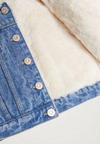 Mango - Denim jacket - mittelblau - 3