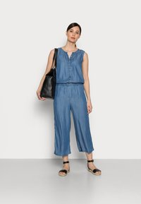 edc by Esprit - Jumpsuit - blue medium wash - 1
