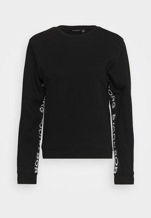 HELENA CREW - Sweatshirt - black beauty
