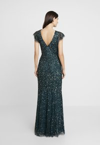 Maya Deluxe - ALL OVER EMBELLISHED DRESS - Occasion wear - emerald - 3