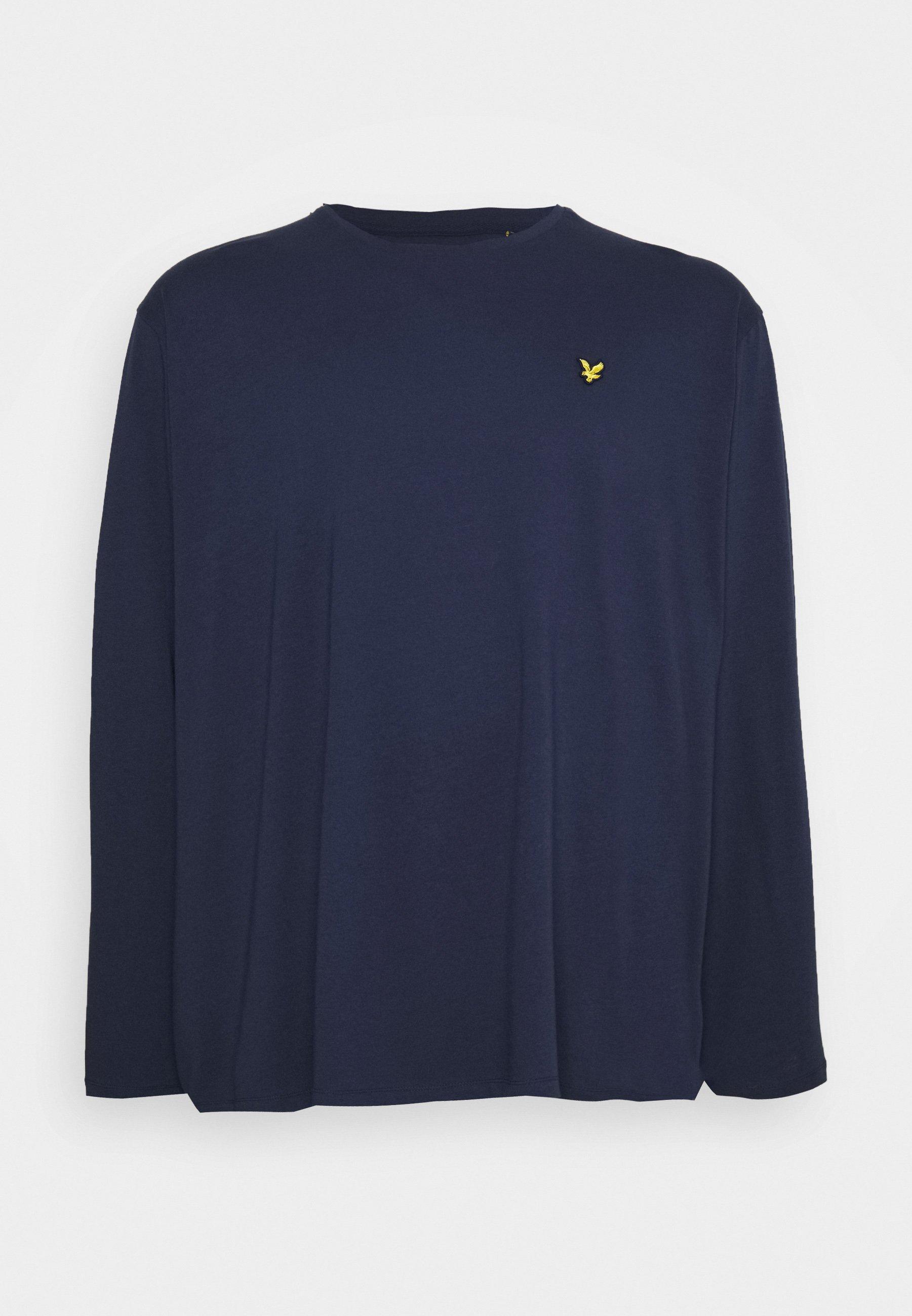 Herrer PLUS - Langærmede T-shirts