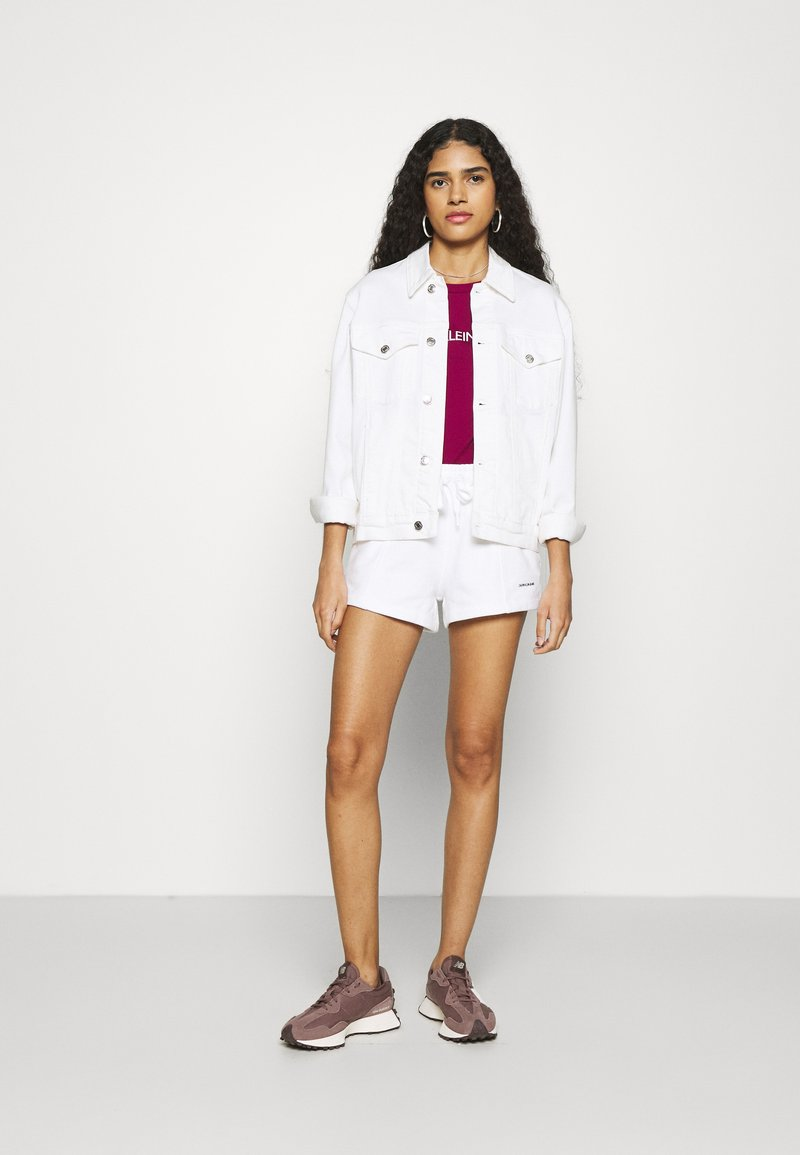 Calvin Klein Jeans - INSTITUTIONAL LOGO TEE 2 PACK - Triko spotiskem - purple