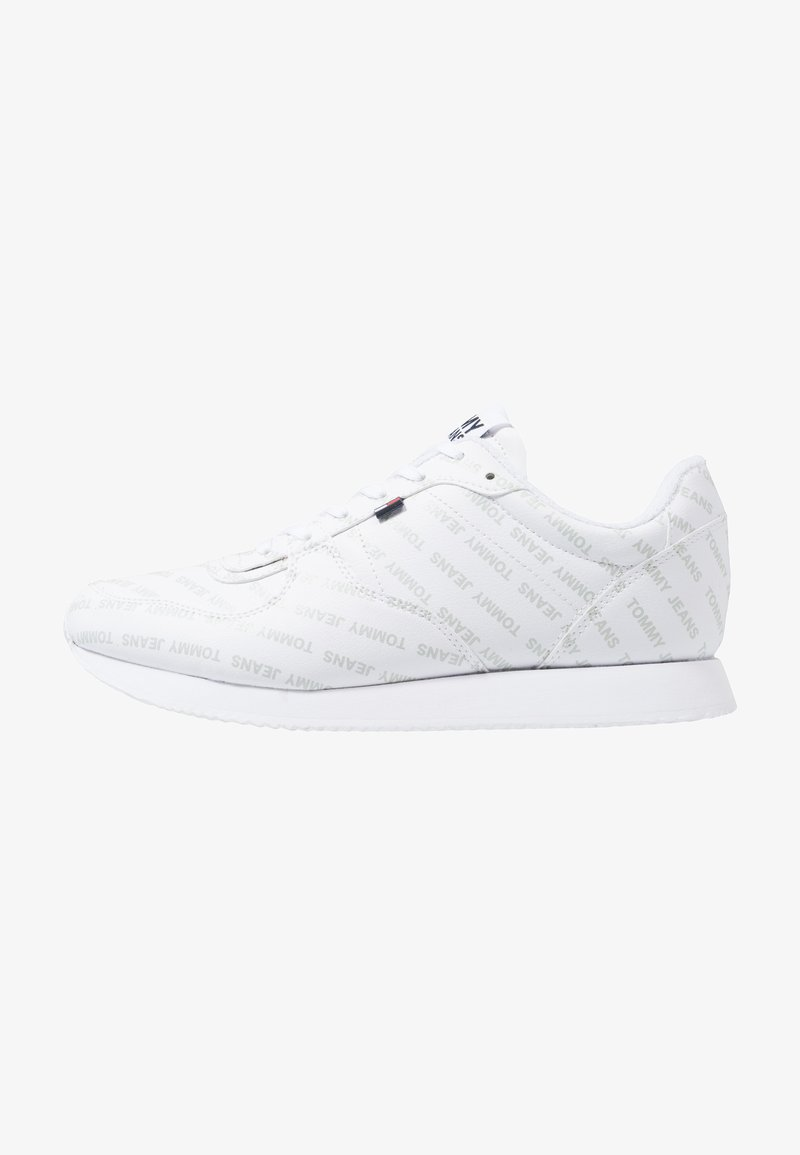 Tommy Jeans - PRINT CITY - Sneakers - white