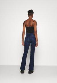 Diesel - D-EBBEY - Flared Jeans - dark blue - 2