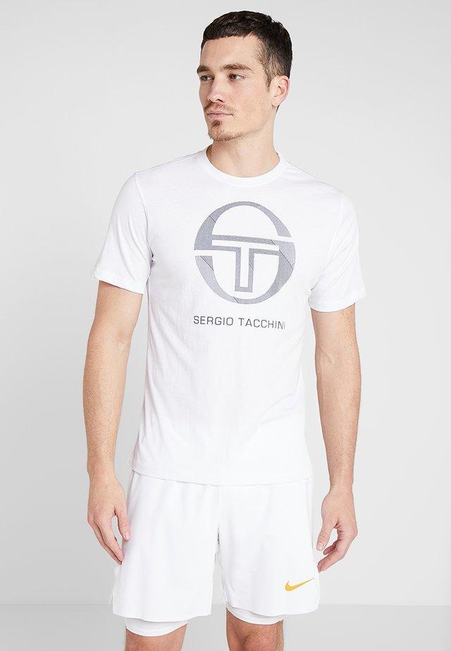 NEW ELBOW - T-shirt z nadrukiem - white