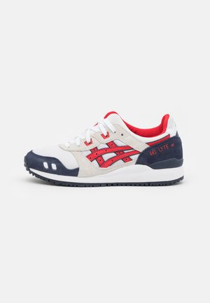 GEL-LYTE III OG UNISEX - Sneakers - white/classic red
