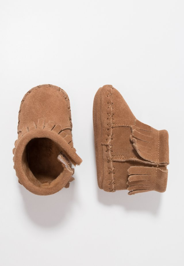 BOOT - First shoes - cognac