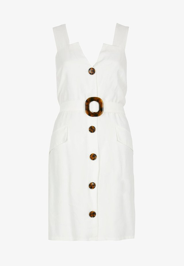 PINAFORE - Day dress - white