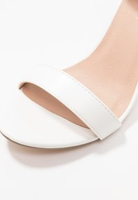 New Look - SCORPION - High heeled sandals - white - 2