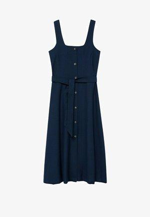 Denní šaty - azul marino oscuro