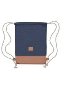 Johnny Urban - TURNBEUTEL LUKE - Sports bag - blue/brown - 2
