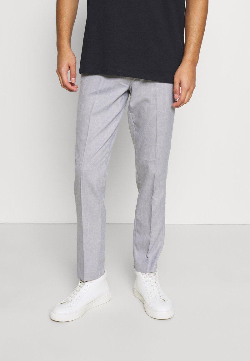 Burton Menswear London - SLUB - Pantaloni - light grey