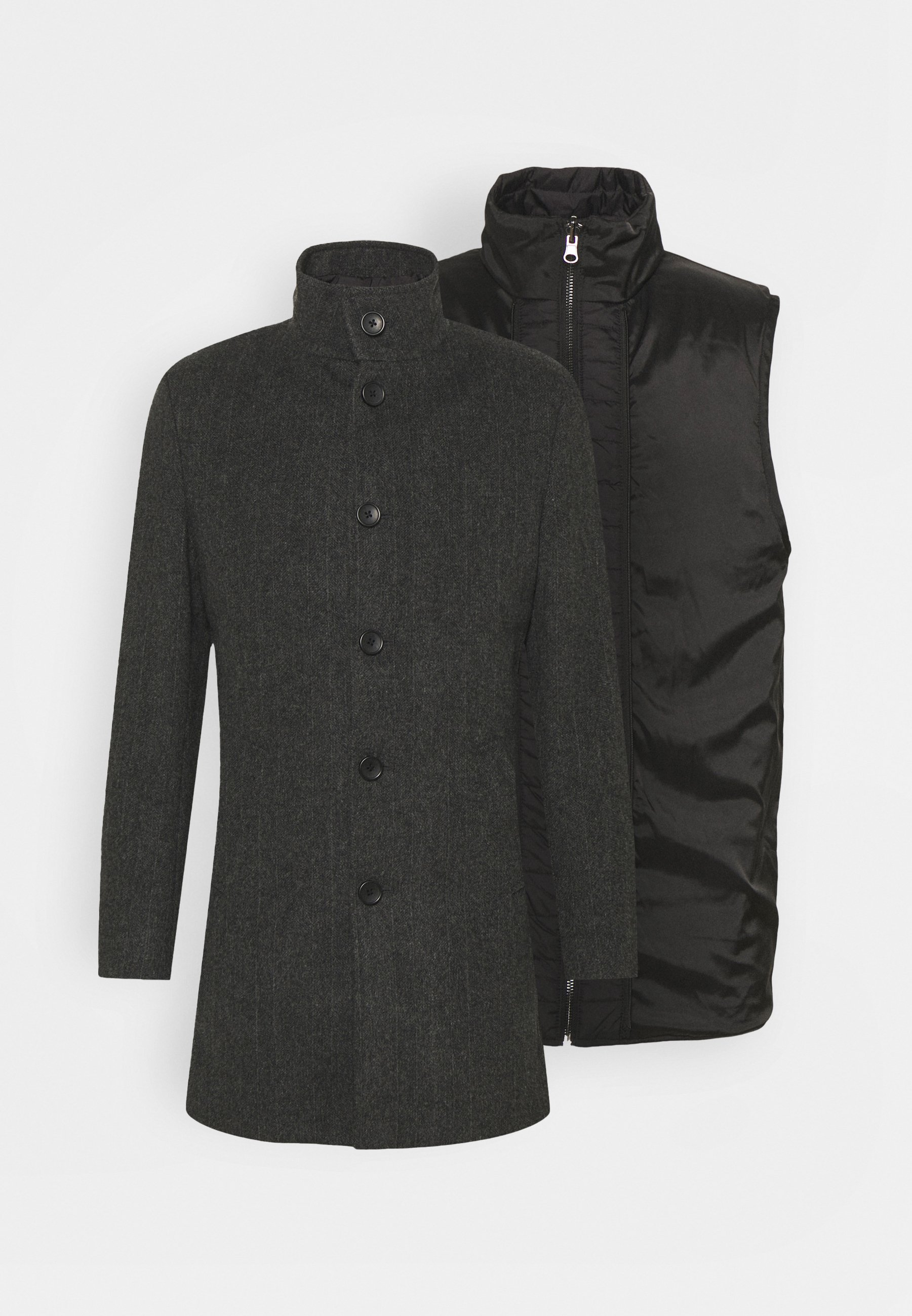 Homme 2-IN-1 - Manteau court