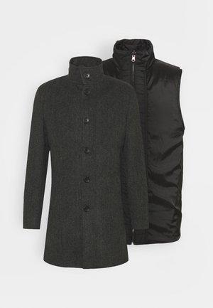 2-IN-1 - Short coat - charcoal