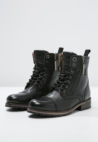 Pepe Jeans - MELTING  - Lace-up ankle boots - black - 2