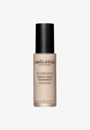BIOMINERAL HEALTHY GLOW FOUNDATION 30ML - Foundation - 121 light yellow