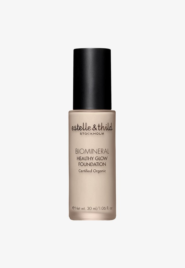 BIOMINERAL HEALTHY GLOW FOUNDATION 30ML - Podkład - 121 light yellow