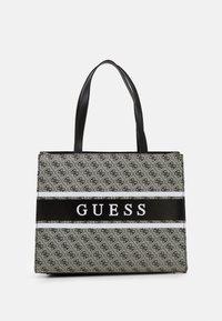 Guess - HANDBAG MONIQUE TOTE - Shopping bag - coal - 0