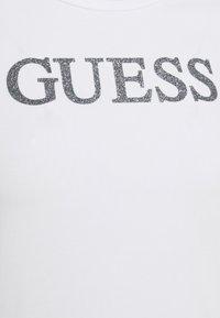 Guess - MIRIANA TEE - Print T-shirt - true white - 6