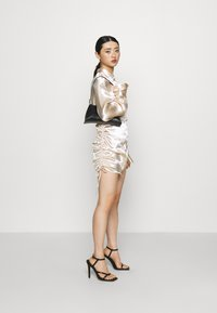 Gina Tricot Petite - SIDNEY SHIRT DRESS - Cocktailjurk - sandshell - 1