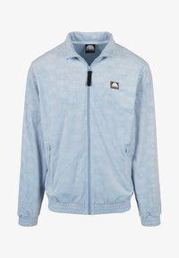Southpole - AOP VELOUR - Training jacket - babyblue - 6