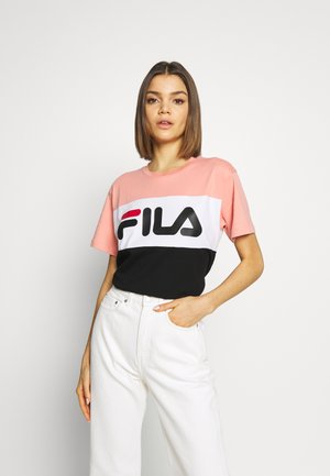 ALLISON - Print T-shirt - lobster bisque-black-bright white