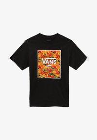 Vans - BY PRINT BOX BOYS - T-shirt print - black flame camo - 2