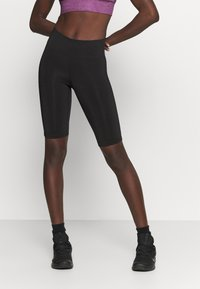 Casall - ESSENTIAL BIKE TIGHTS - Leggings - black - 0