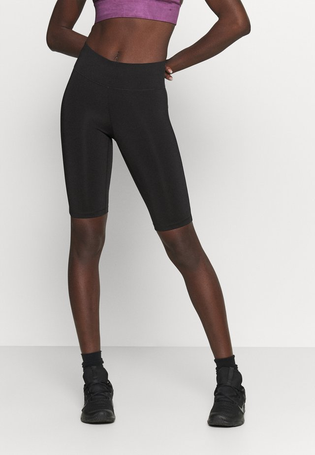 ESSENTIAL BIKE TIGHTS - Collants - black